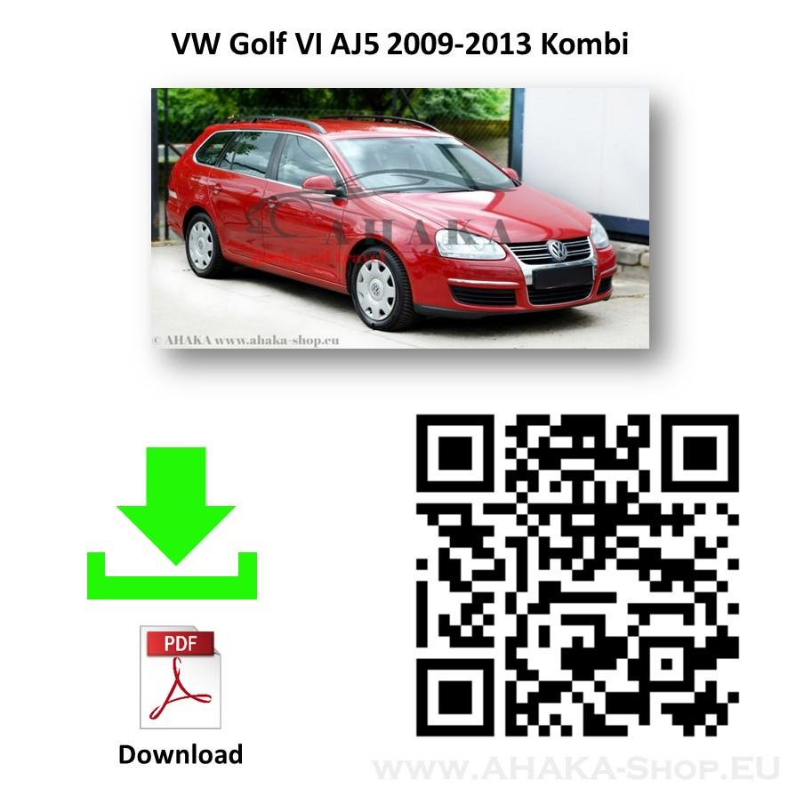Anhängerkupplung für VW Volkswagen Golf V / VI Variant Kombi Bj. 2007 - 2013 - günstig online kaufen