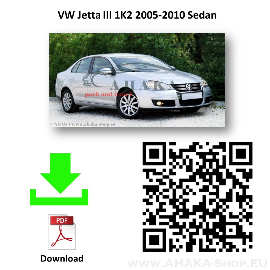 Anhängerkupplung für VW Volkswagen Jetta III Stufenheck Bj. 2005 - 2010 - günstig online kaufen