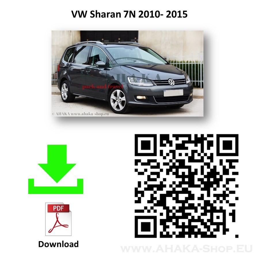 Anhängerkupplung für VW Volkswagen Sharan Bj. ab 2010 - günstig online kaufen