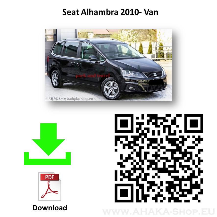Anhängerkupplung für Seat Alhambra Bj. ab 2010 - günstig online kaufen