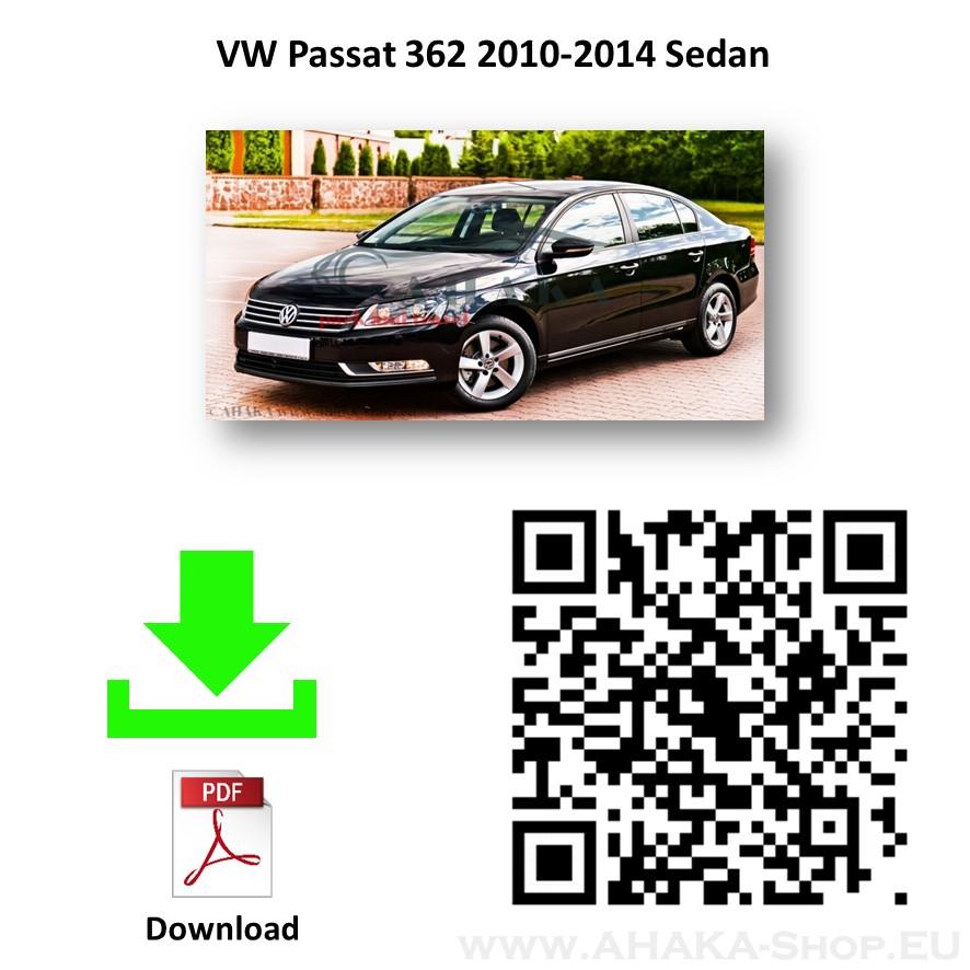 Anhängerkupplung für VW Volkswagen Passat B7 Stufenheck, Variant, Kombi Bj. 2010 - 2014 - günstig online kaufen