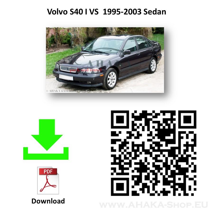 Anhängerkupplung für Volvo V40 S40 Stufenheck Kombi Bj. 1995 - 2003 - günstig online kaufen