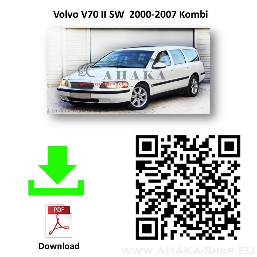 Anhängerkupplung für VOLVO V70 Kombi Bj. ab 2000 - 2007 - günstig online kaufen
