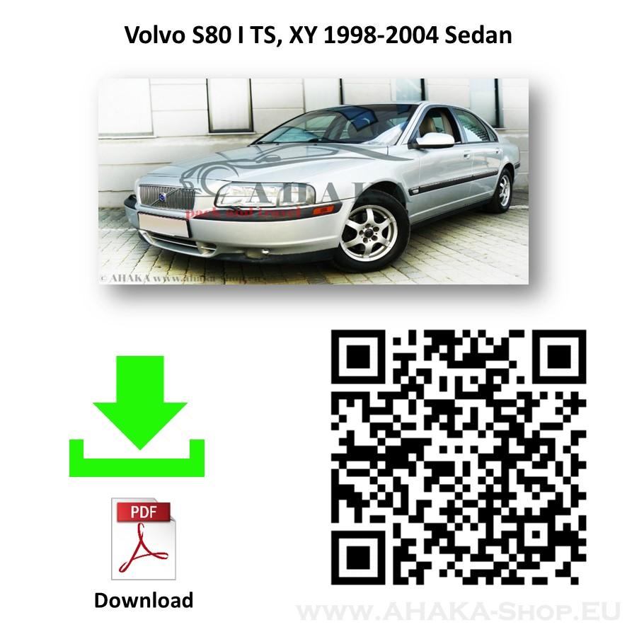 Anhängerkupplung für Volvo S80 Stufenheck Bj. 1998 - 2006 - günstig online kaufen