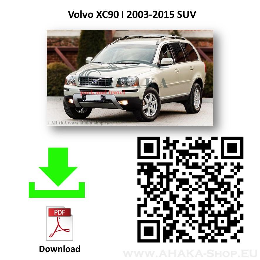 Anhängerkupplung für Volvo XC90 Bj. 2003 - 2015 - günstig online kaufen