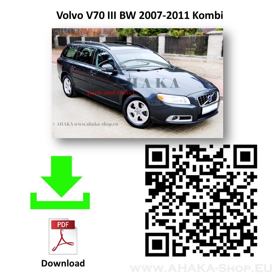 Anhängerkupplung für VOLVO V70 Kombi Bj. ab ab 2007 - günstig online kaufen