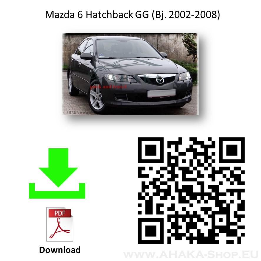 Anhängerkupplung für Mazda 6 GG Schrägheck Bj. 2002 - 2008 - günstig online kaufen