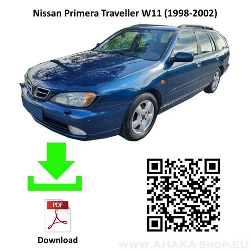 Anhängerkupplung für Nissan Primera Kombi Bj. 1998 - 2002 - günstig online kaufen