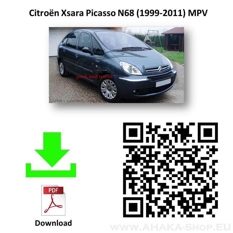 Anhängerkupplung für CITROEN XSARA PICASSO Bj. ab 2000 - 2010 - günstig online kaufen