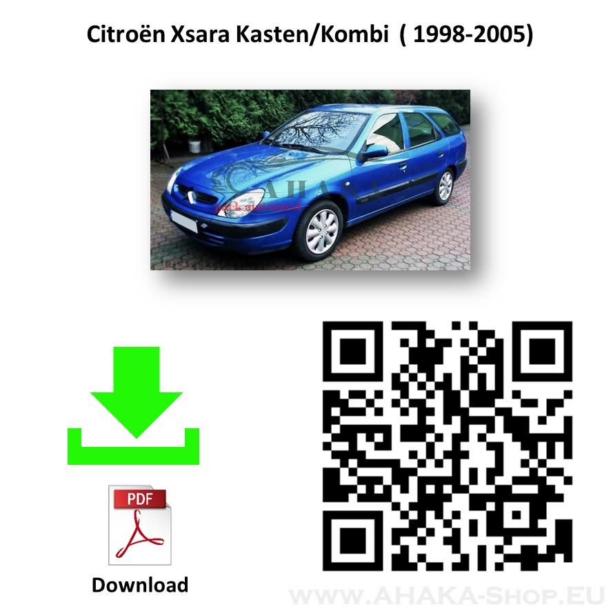 Anhängerkupplung für Citroen Xsara Kombi Bj. 1997 - 2005 - günstig online kaufen