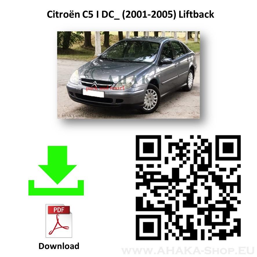 Anhängerkupplung für Citroen C5 I Stufenheck, Schrägheck Bj. 2001 - 2004 - günstig online kaufen
