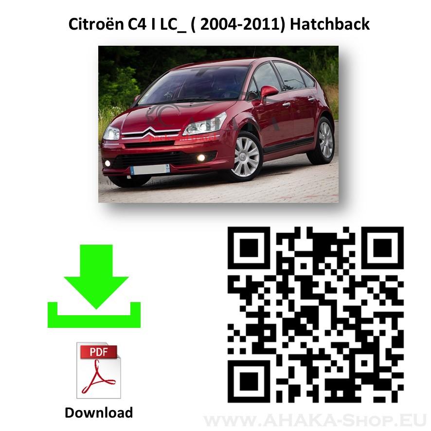 Anhängerkupplung für CITROEN C4 Schrägheck Bj. ab 2004 - 2010 - günstig online kaufen