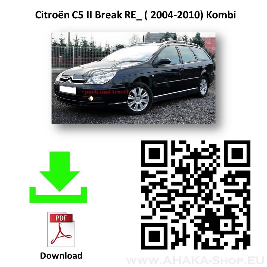 Anhängerkupplung für CITROEN C5 I Break Kombi Bj. ab 2004 - 2008 - günstig online kaufen