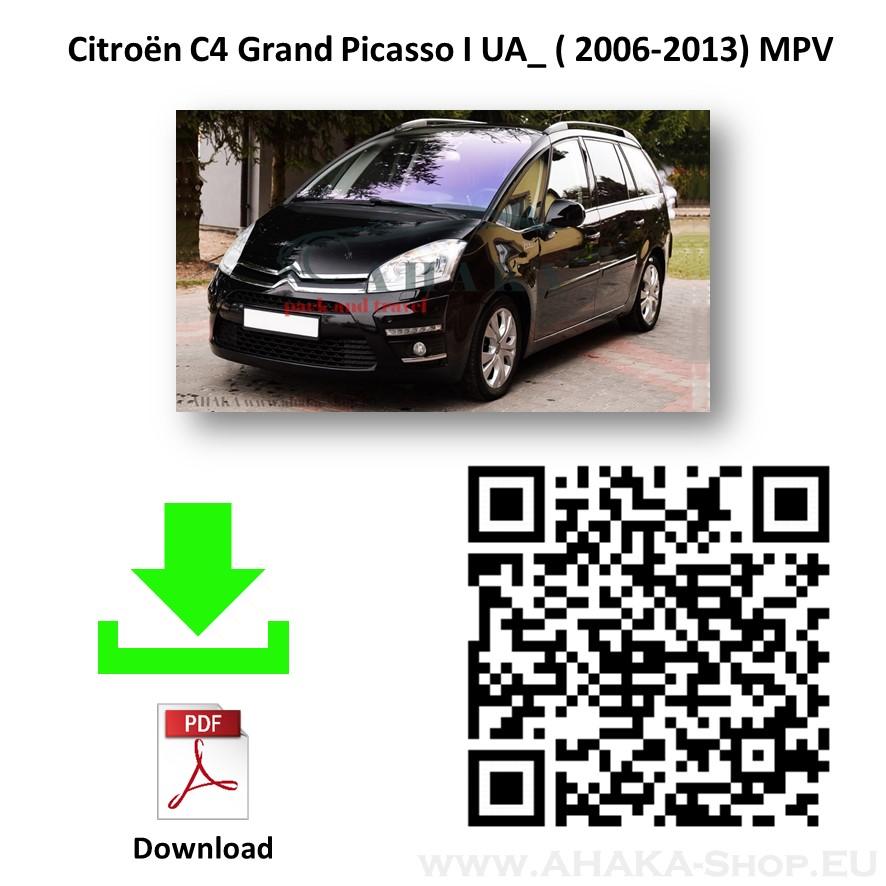 Anhängerkupplung für Citroen C4 Picasso / Grand Picasso Bj. 2006 - 2013 - günstig online kaufen