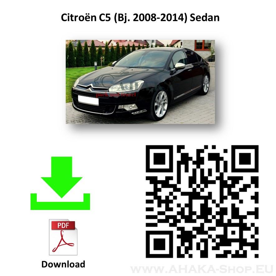 Anhängerkupplung für Citroen C5 II Stufenheck Bj. ab 2008 - günstig online kaufen