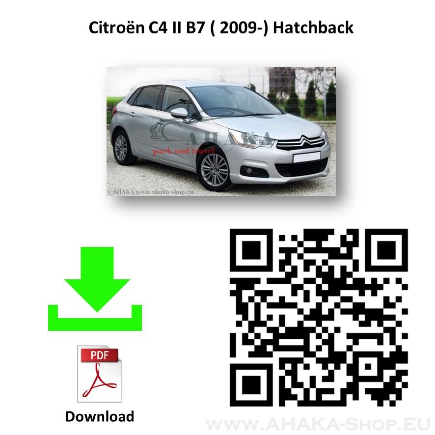 Anhängerkupplung für Citroen C4 II Schrägheck Bj. ab 2010 - günstig online kaufen