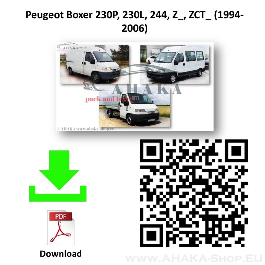 Anhängerkupplung für Peugeot Boxer Bus, Kasten, Pritsche Bj. 1994 - 2006 - günstig online kaufen