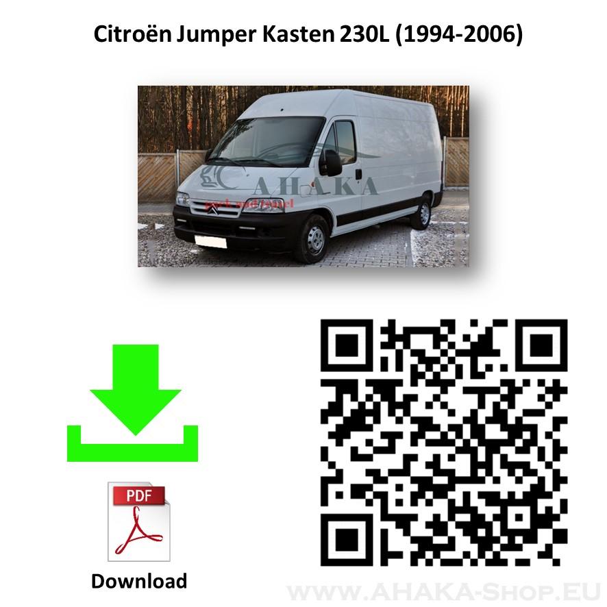 Anhängerkupplung für Citroen Jumper Bus, Kasten, Pritsche Bj. 1994 - 2006 - günstig online kaufen