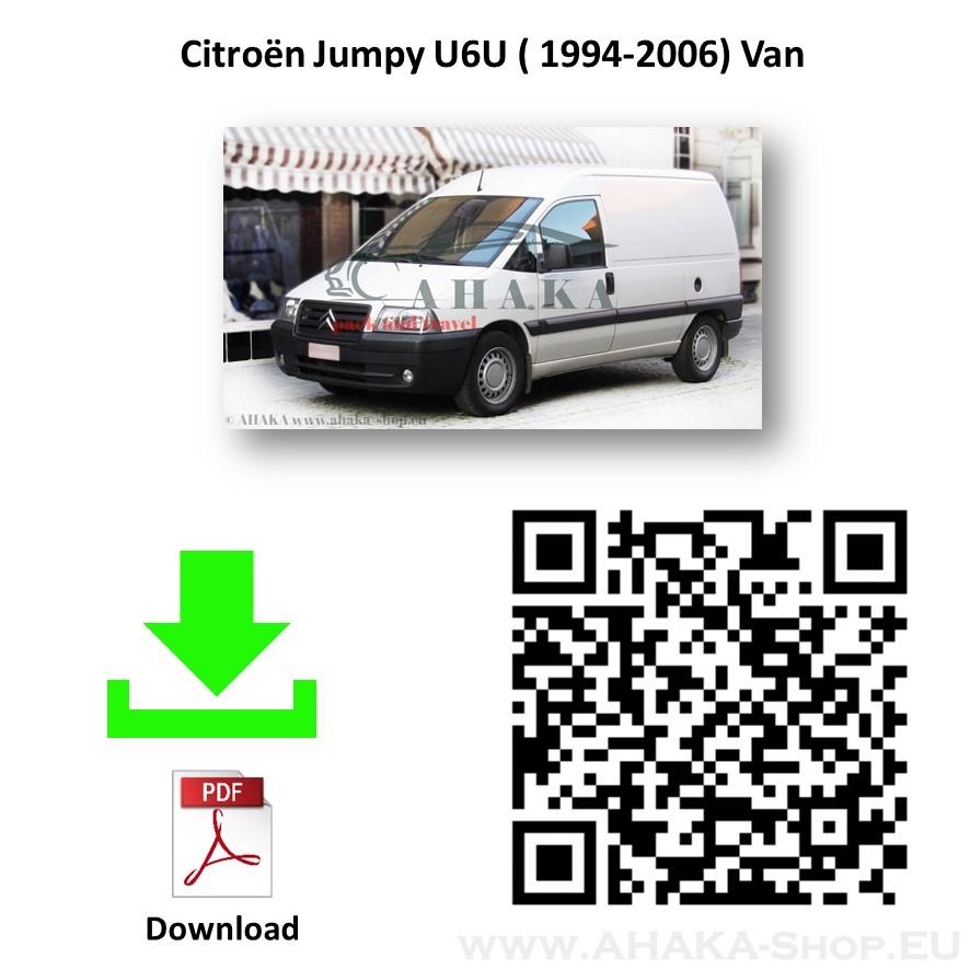 Anhängerkupplung für Citroen Evasion / Jumpy I Bus, Kasten Bj. 1994 - 2007 - günstig online kaufen