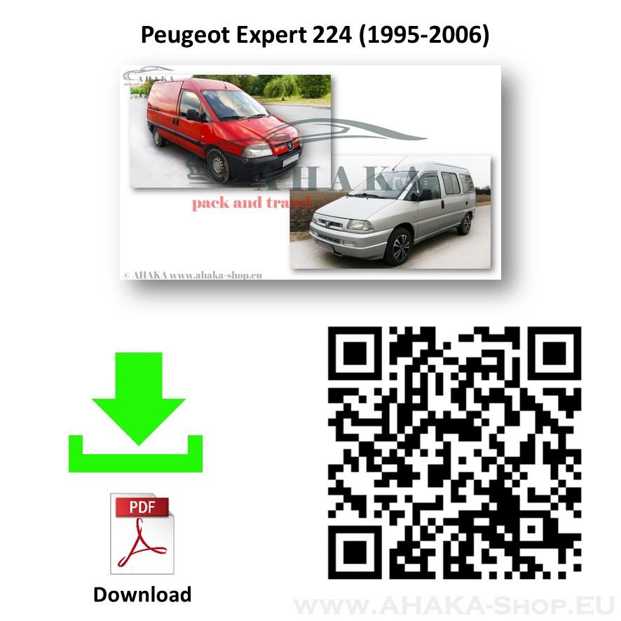 Anhängerkupplung für Peugeot 806 / Expert I Bj. 1996 - 2007 - günstig online kaufen