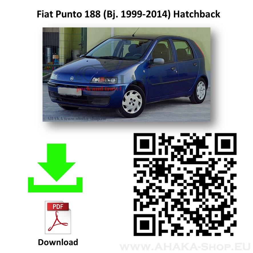 Anhängerkupplung für Fiat Punto II Schrägheck Bj. 1999 - 2011 - günstig online kaufen