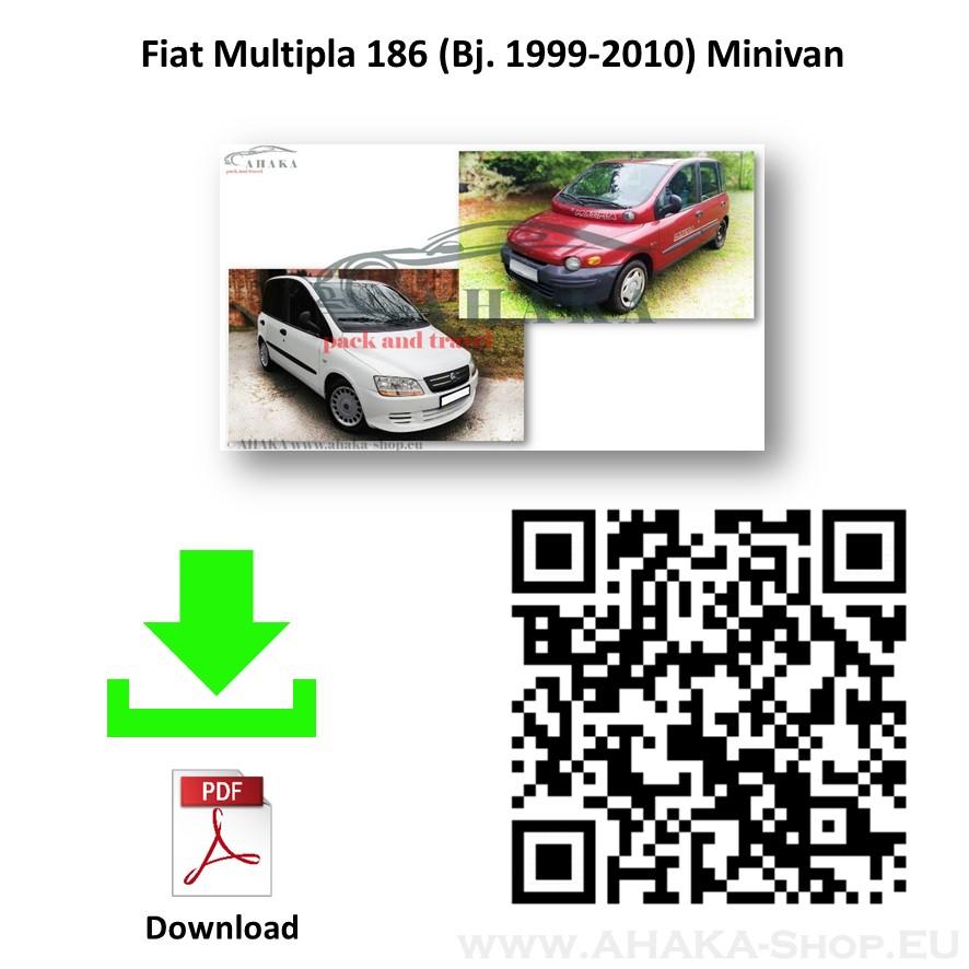 Anhängerkupplung für Fiat Multipla Bj. 1999 - 2004 - günstig online kaufen