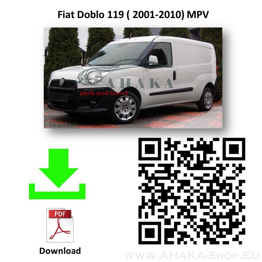 Anhängerkupplung für Fiat Doblo, Doblo Maxi Bj. 2001 - 2010 - günstig online kaufen