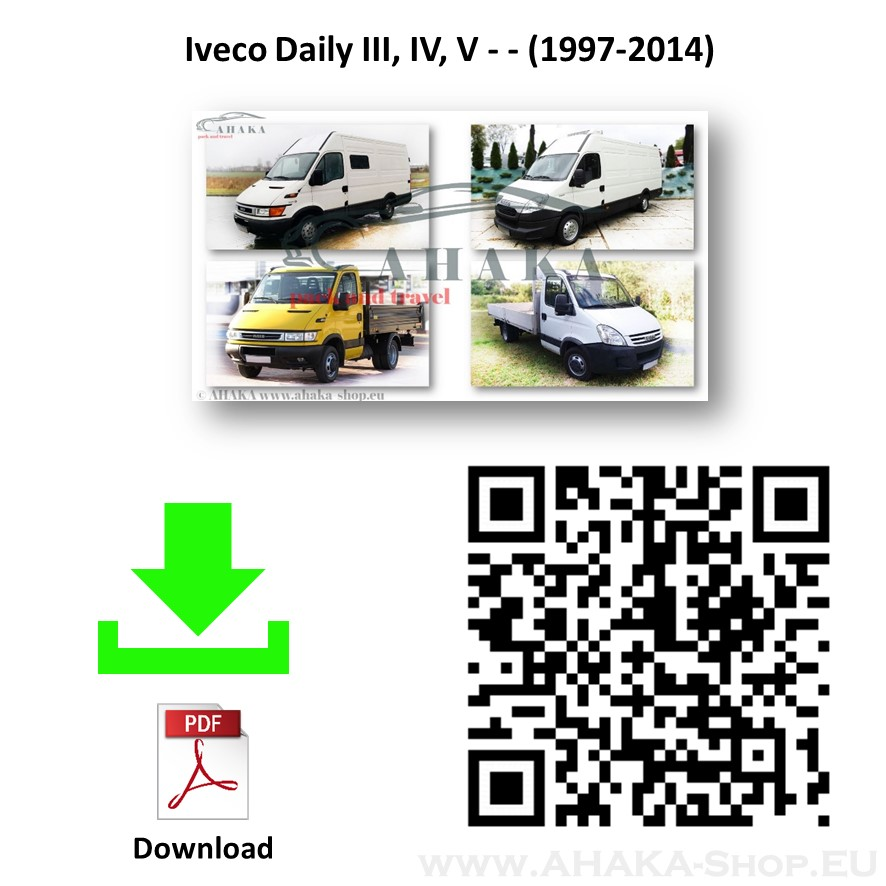 Anhängerkupplung für Iveco Daily 35S, 35C, 50S, 50C - Bus, Kasten, Pritsche Bj. 1999 - 2014 - günstig online kaufen