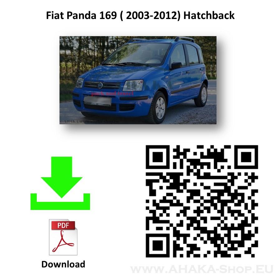 Anhängerkupplung für FIAT PANDA II Schrägheck Bj. ab 2003 - 2012 - günstig online kaufen