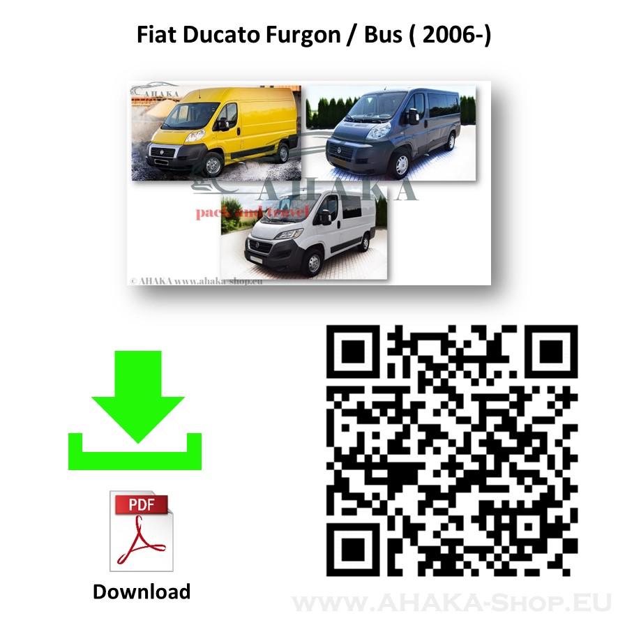 Anhängerkupplung für Fiat Ducato L1, L2, L3 Bus, Kasten Bj. ab 2006 - günstig online kaufen