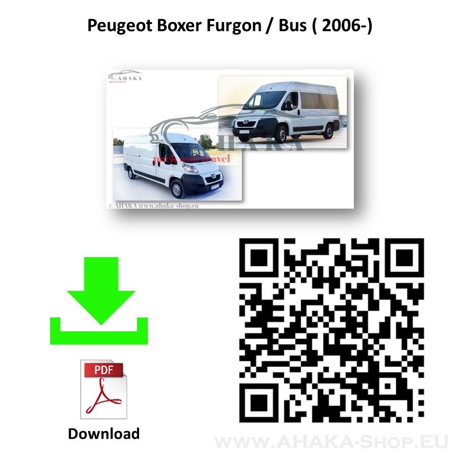 Anhängerkupplung für Peugeot Boxer Bus, Kasten Bj. ab 2006 - günstig online kaufen