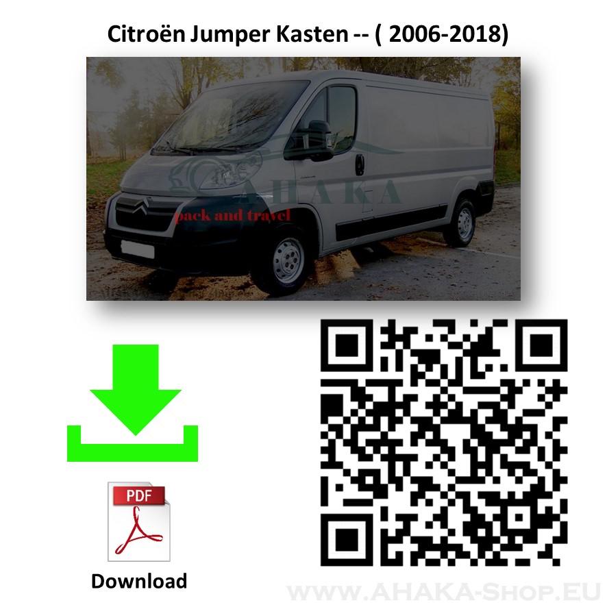 Anhängerkupplung für Citroen Jumper L1, L2, L3 Bus, Kasten Bj. ab 2006 - günstig online kaufen