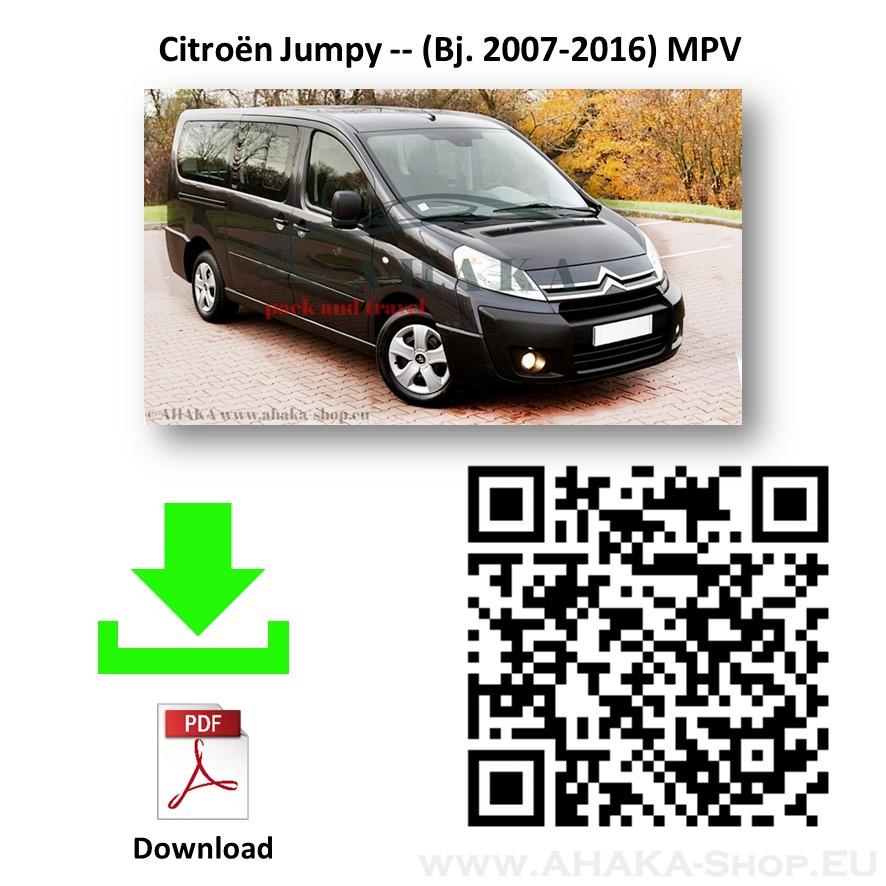 Anhängerkupplung für Citroen Jumpy II Bus, Kasten Bj. 2007 - 2015 - günstig online kaufen