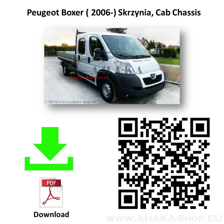 Anhängerkupplung für Peugeot Boxer Pritsche Bj. ab 2006 - günstig online kaufen