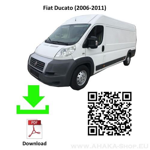 Anhängerkupplung für Fiat Ducato L4, L5 Bus, Kasten Bj. ab 2006 - günstig online kaufen