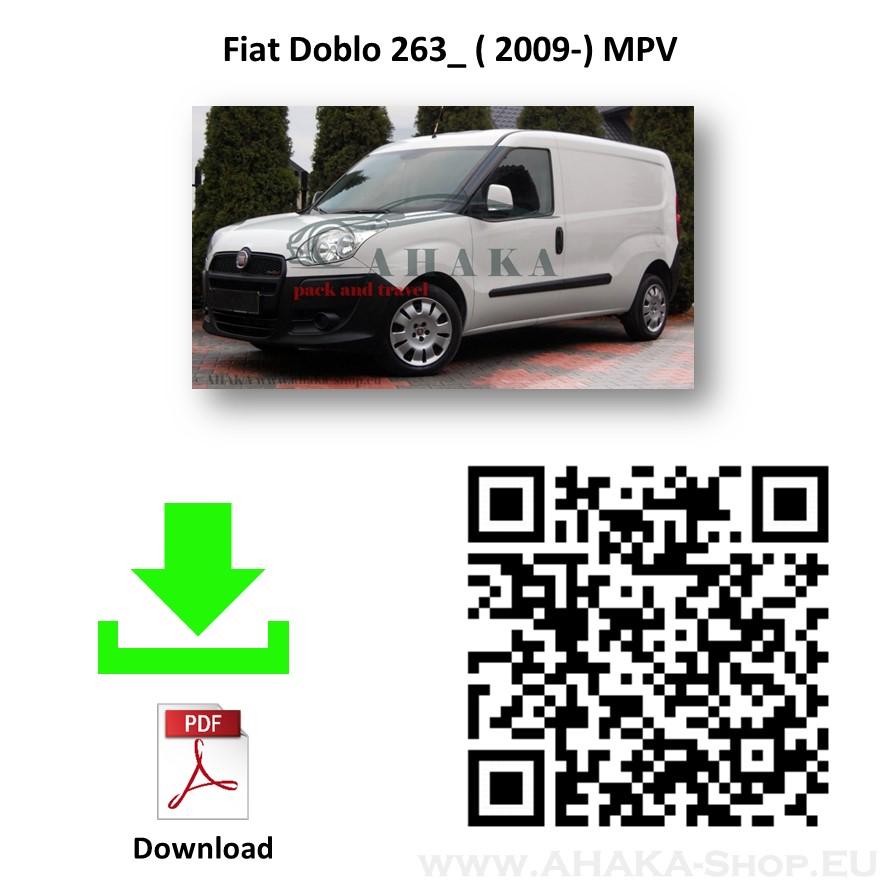 Anhängerkupplung für Fiat Doblo, Doblo Maxi Bj. ab 2010 - günstig online kaufen