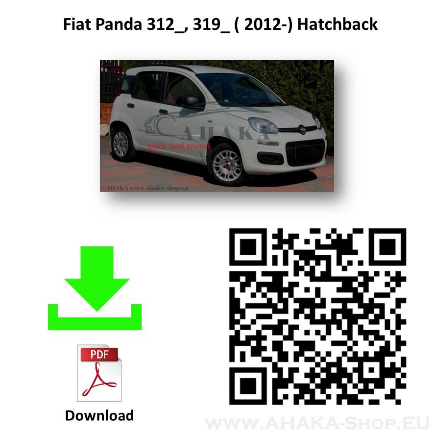 Anhängerkupplung für Fiat Panda III Schrägheck Bj. ab 2012 - günstig online kaufen