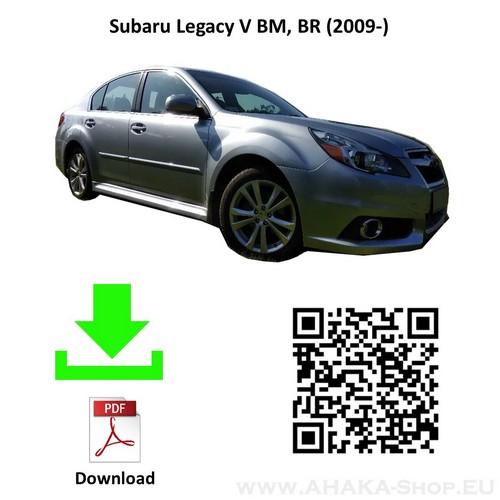 Anhängerkupplung für Subaru Legacy V Stufenheck Bj. ab 2009 - günstig online kaufen