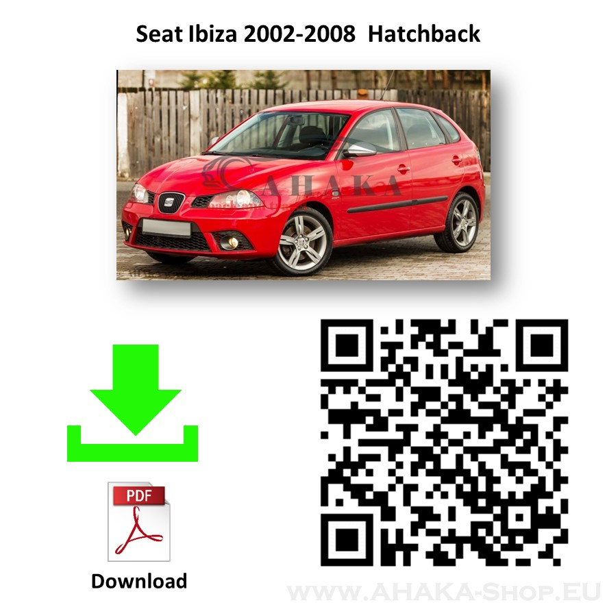 Anhängerkupplung für Seat Ibiza Schrägheck Bj. 2002 - 2008 - günstig online kaufen