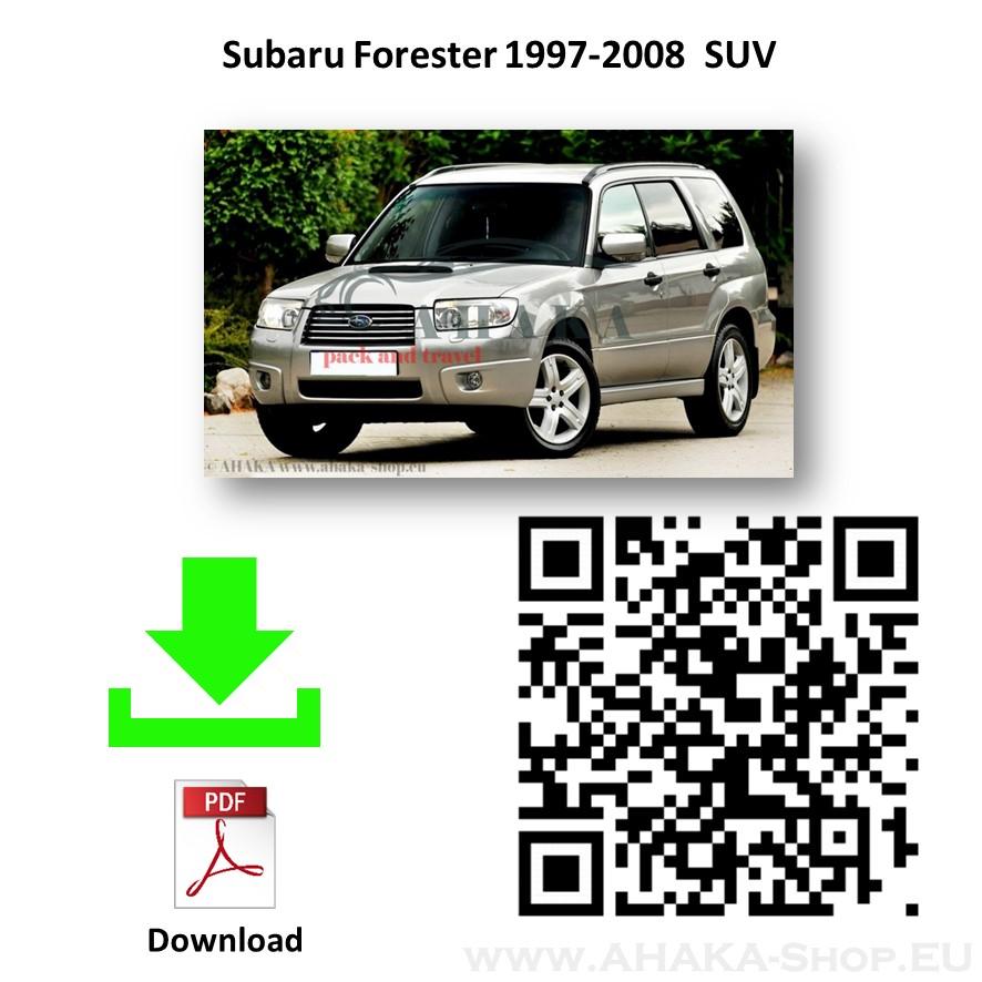 Anhängerkupplung für Subaru Forester Kombi Bj. 1997 - 2008 - günstig online kaufen