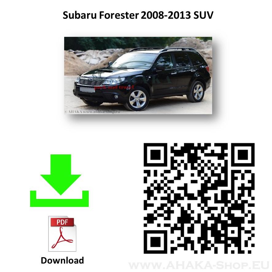 Anhängerkupplung für Subaru Forester Kombi Bj. 2008 - 2013 - günstig online kaufen