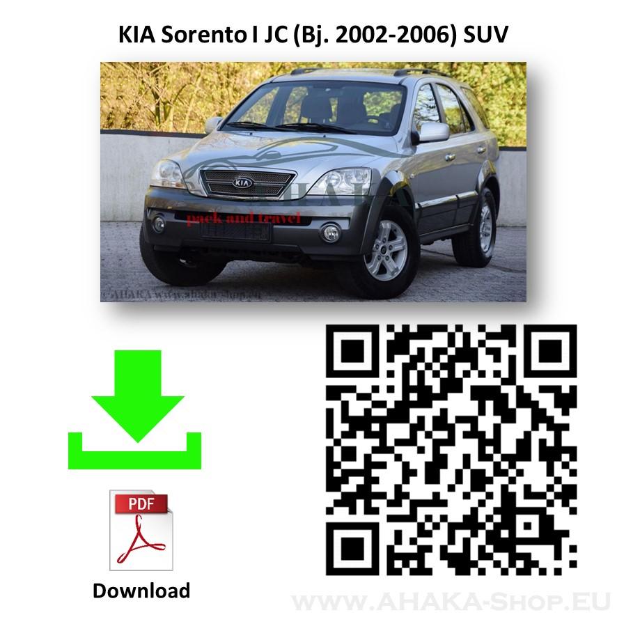 Anhängerkupplung für Kia Sorento Bj. 2002 - 2006 - günstig online kaufen