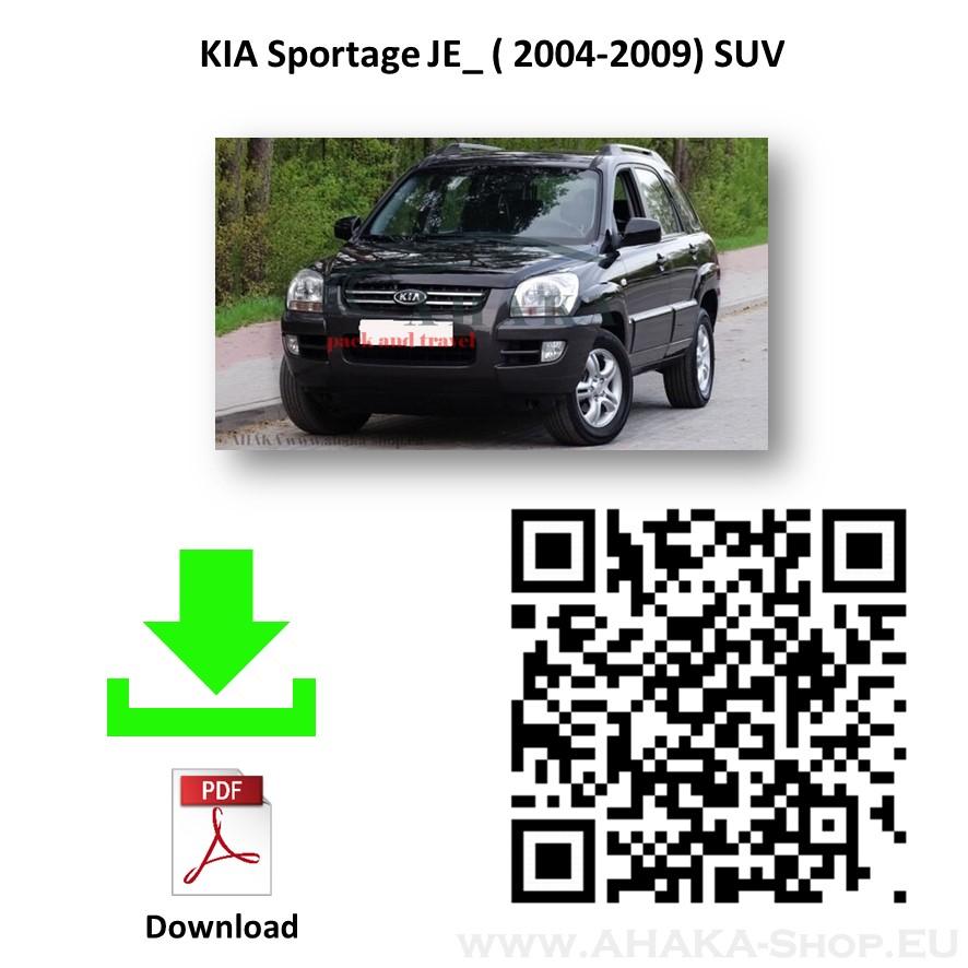 Anhängerkupplung für Kia Sportage JE Bj. 2004 - 2010 - günstig online kaufen