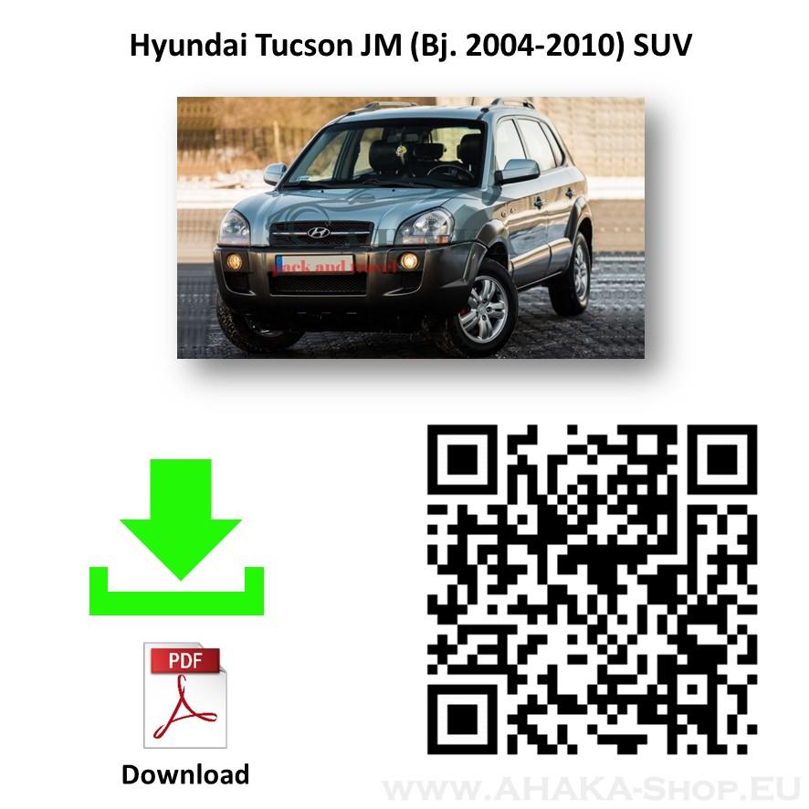 Anhängerkupplung für Hyundai Tucson Bj. 2004 - 2010 - günstig online kaufen