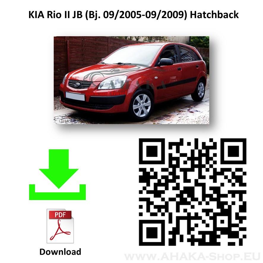 Anhängerkupplung für Kia Rio II Schrägheck Bj. 2005 - 2009 - günstig online kaufen