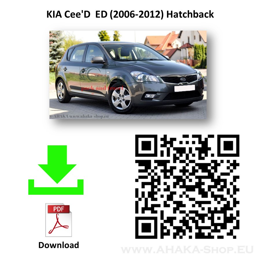 Anhängerkupplung für Kia Cee'D Schrägheck Bj. 2006 - 2012 - günstig online kaufen