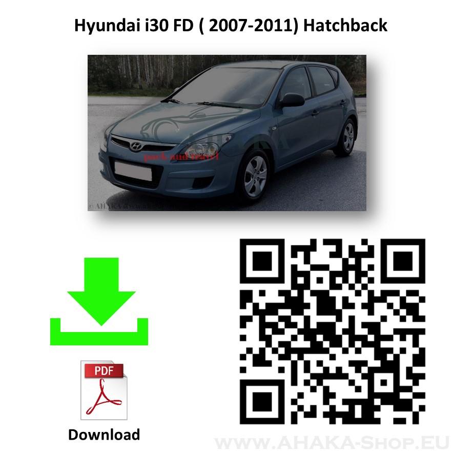 Anhängerkupplung für Hyundai i30 Schrägheck Bj. 2007 - 2012 - günstig online kaufen
