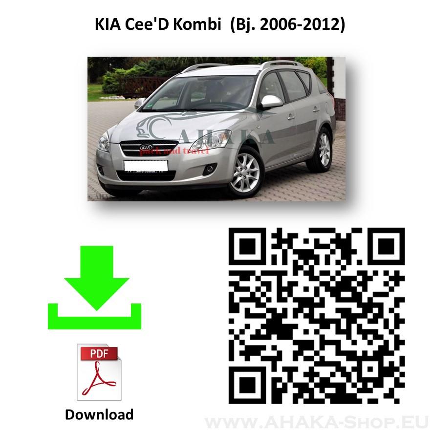 Anhängerkupplung für Kia Cee'D SW Kombi Bj. 2007 - 2012 - günstig online kaufen