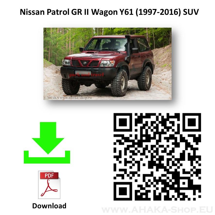 Anhängerkupplung für Nissan Patrol GR Y61 Bj. 1998 - 2004 - günstig online kaufen