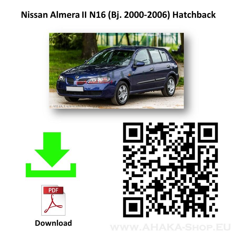 Anhängerkupplung für NISSAN ALMERA Schrägheck Bj. ab 2000 - 2006 - günstig online kaufen